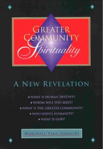 Greater Community Spirituality book