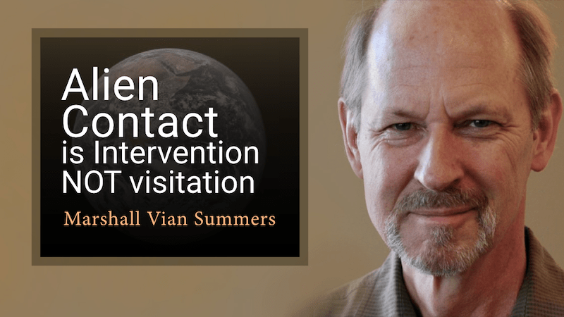 alien contact is not visitation
